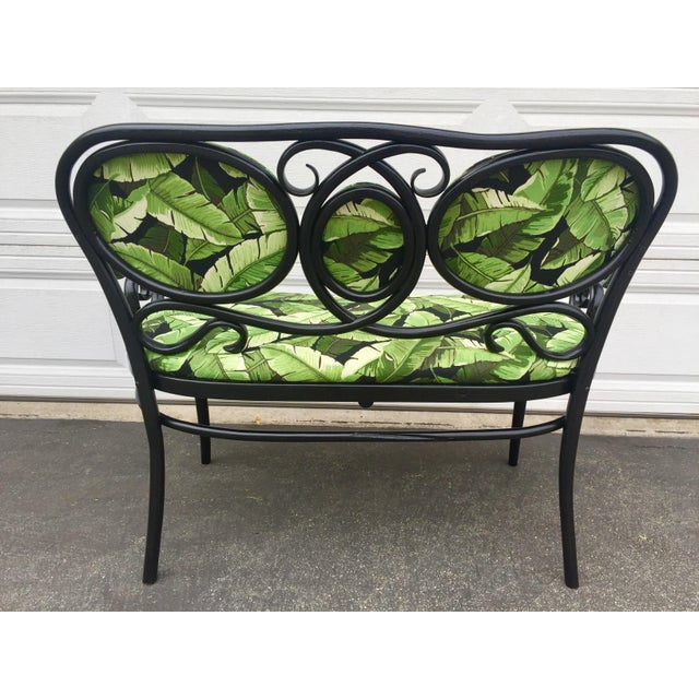 Vintage Thonet Bentwood Bench For Sale - Image 5 of 8
