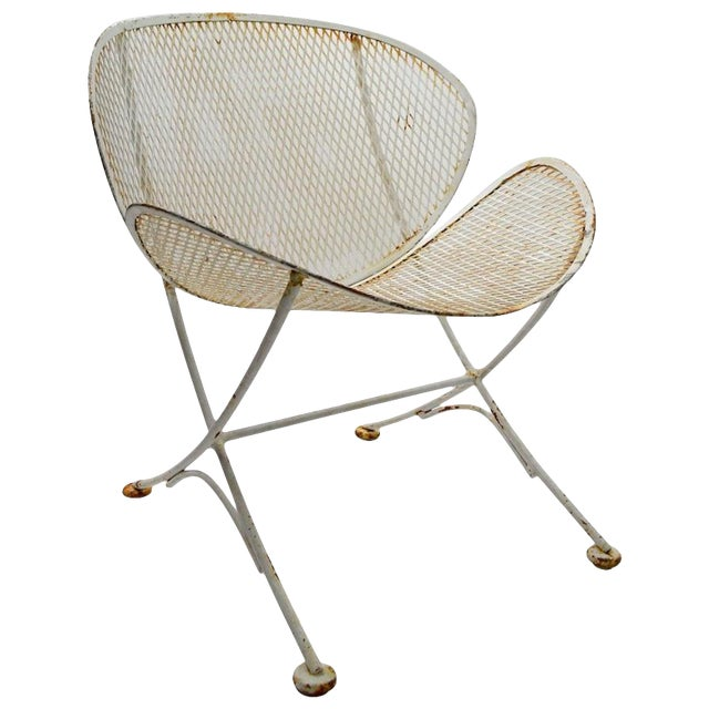 Pair of Tempestini for Salterini Clamshell Lounge Chairs For Sale