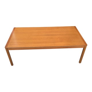 Norwegian Mid-Century Teak Coffee Table For Sale