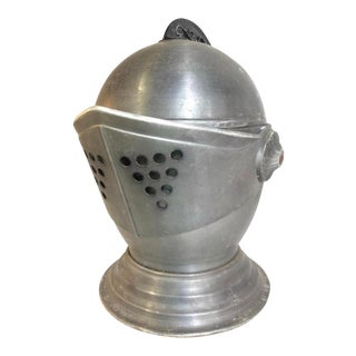 1960s Vintage Knights Helmet Ice Bucket For Sale