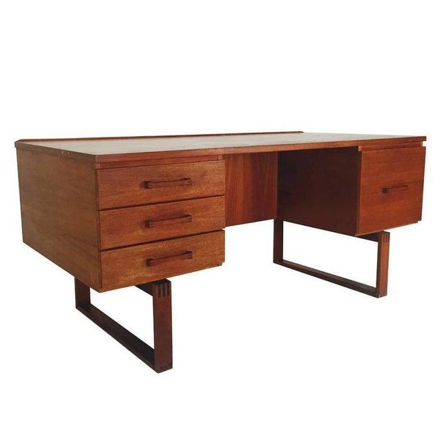Dyrlund Mid-Century Danish Desk - Image 1 of 9