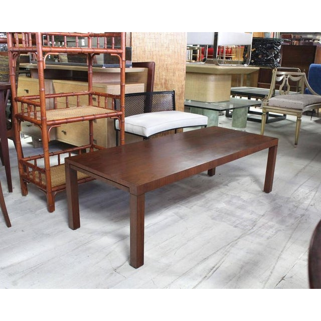 Directional Directional Mid-Century Modern Expandable Walnut Coffee Table For Sale - Image 4 of 8