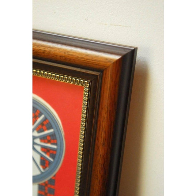 """Framed Hermes Scarf """"Bull and Mouth Regent's Circus Piccadilly"""" - Image 9 of 10"""