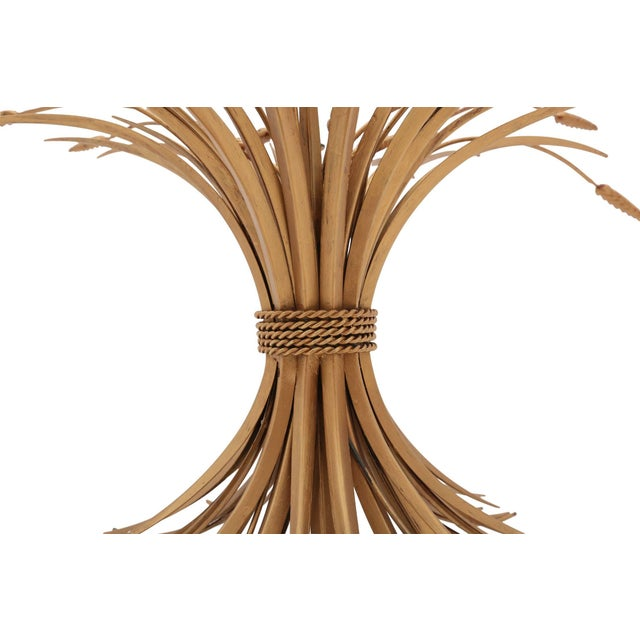 Coco Chanel Wheat Sheaf Coffee Table For Sale - Image 6 of 8
