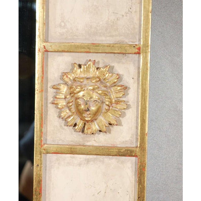 1980s Sun Faces Wall Mirror For Sale - Image 5 of 5