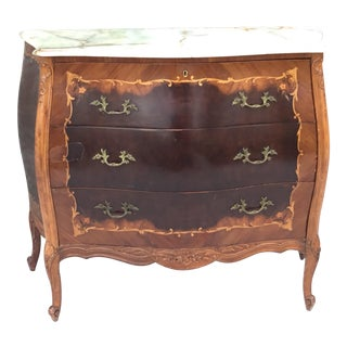 Vintage Marble Top Chest For Sale