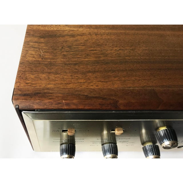 1960's Vintage MCM Hh Scott Integrated Tube Amplifier 222c For Sale - Image 9 of 12