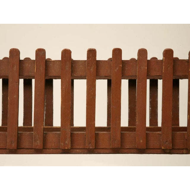 1940s c.1940 English Painted Wood Plant Stand For Sale - Image 5 of 10