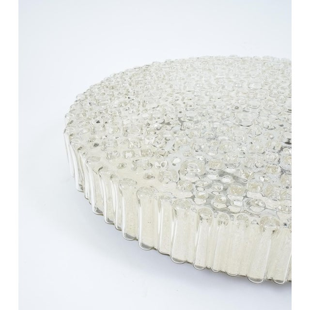 Staff Leuchten Large Staff Bubble Glass Flush Mount, Germany 1960 For Sale - Image 4 of 6