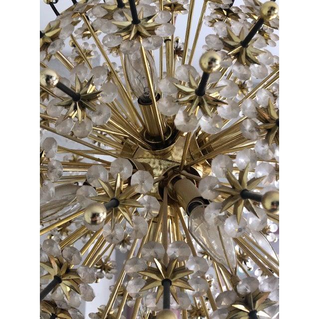 Mid 20th Century Mid 20th Century Swarovski Schonbek Sputnik Chandlier For Sale - Image 5 of 13