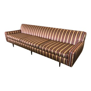 Mid Century Sofa Style of Milo Baughman For Sale