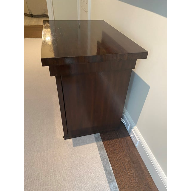 Contemporary 21st Century Brown Baker Table For Sale - Image 3 of 5