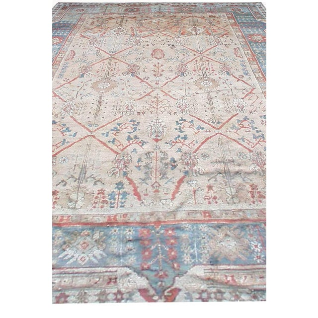 Antique Turkish Ghiordes Rug For Sale In New York - Image 6 of 9