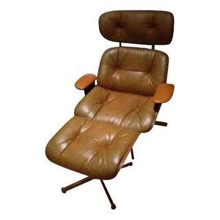 Frank Doerner Selig Plywood Lounge & Ottoman