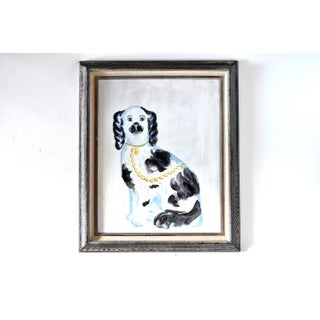 Contemporary Staffordshire Spaniel Painting Preview