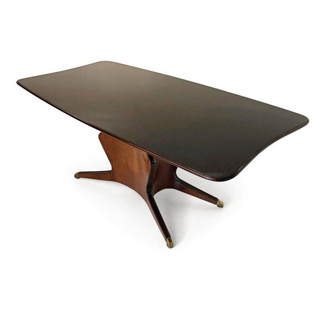 Brass Fossati, Attilio & Arturo Dining Table, Italy, Circa 1950 For Sale - Image 7 of 10