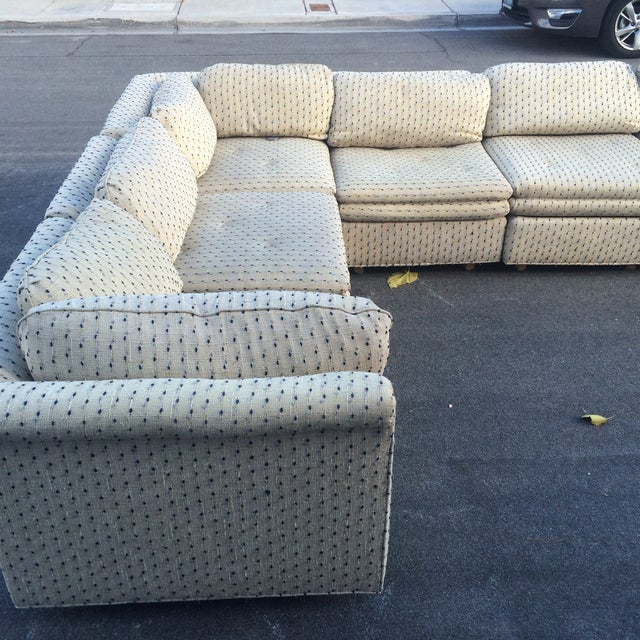 Sherrill Furniture Contemporary Six-Part Sectional - Image 5 of 10