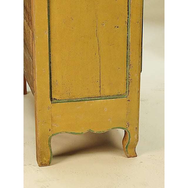 Early 19th Century 19th Century Italian Painted Armoire Bookcase For Sale - Image 5 of 5