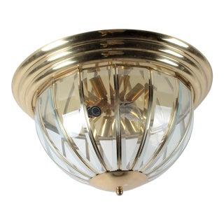 Maxim Lighting Brass Dome Chandelier