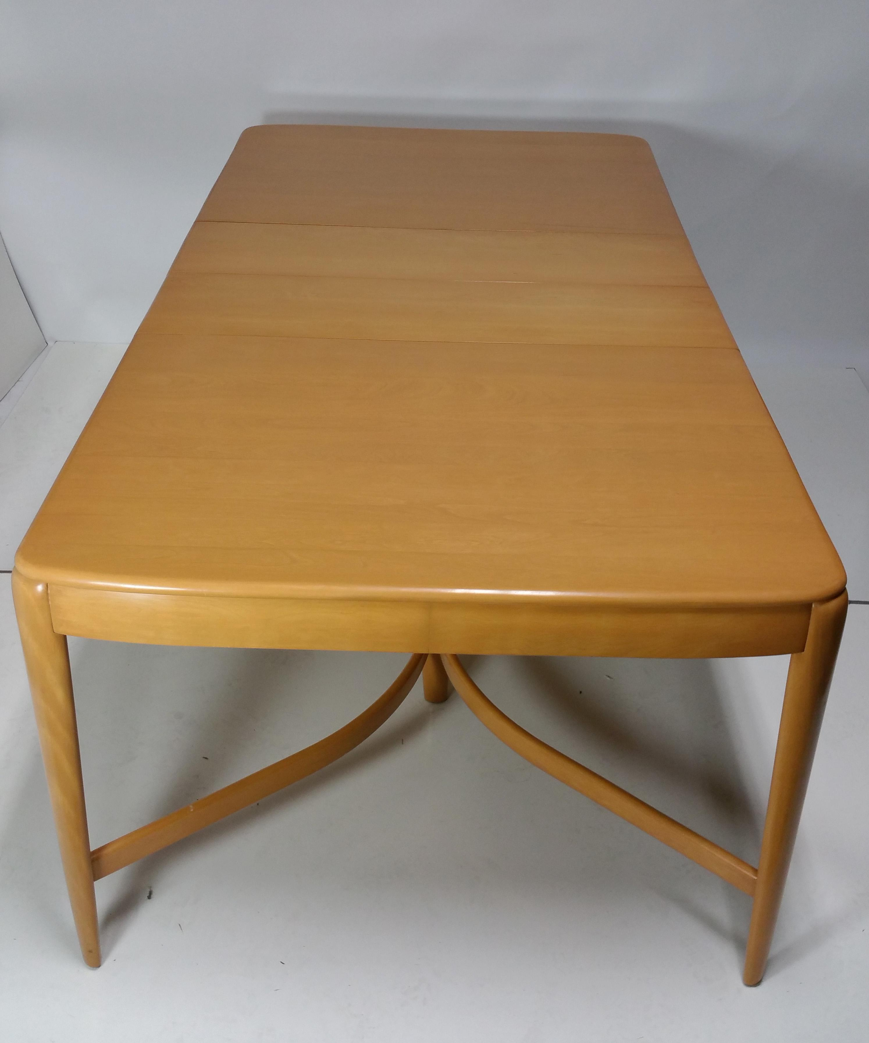 1940s Vintage Heywood Wakefield Dining Set For Sale In San Francisco    Image 6 Of 8