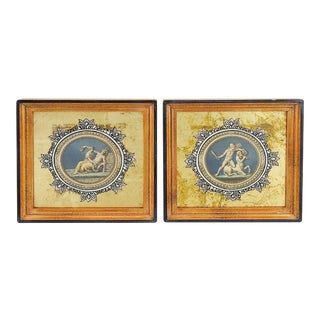 Medallion Raphael Etchings - A Pair For Sale