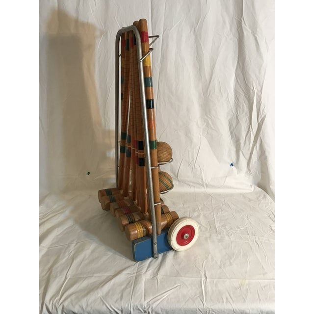 1950's Croquet Game Set For Sale In Savannah - Image 6 of 11