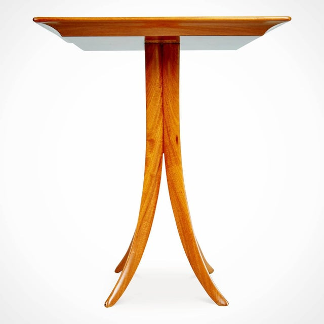 Giuseppe Scapinelli 1955 Giuseppe Scapinelli Caviuna Wood Sculptural Side Tables, Brazil - a Pair For Sale - Image 4 of 11