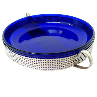 Cobalt Glass Bowl For Sale