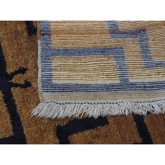 Blue Tulu with Arches For Sale - Image 8 of 8