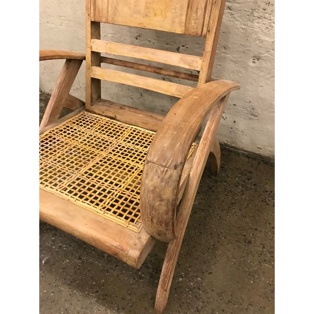 1950s 1950s Cerused Lounge Chair Attributed to Rene Gabriel For Sale - Image 5 of 8