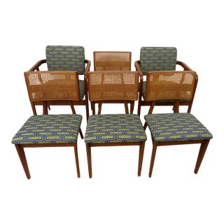 George Nelson for Herman Miller Dining Chairs, Set of 6 For Sale