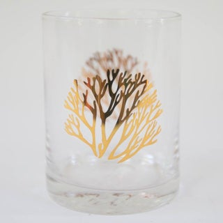 Gold Coral Cocktail Glasses - Set of 4 Preview