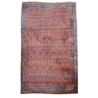 Over-Sized Bidjar Carpet - 11′8″ × 18′ For Sale