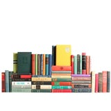 Image of Midcentury MIX Book Wall : Set of Fifty Decorative Books For Sale