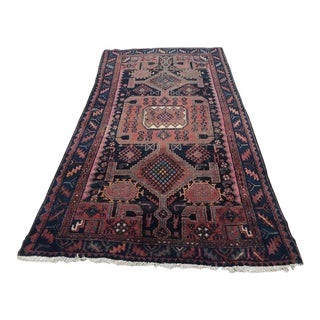 Antique Caucasian Handknotted Rug For Sale