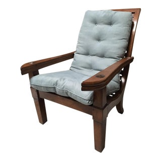 Indonesian Teak Chair For Sale