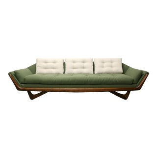 1960s Vintage Adrian Pearsall Gondola Sofa by Craft Associates For Sale