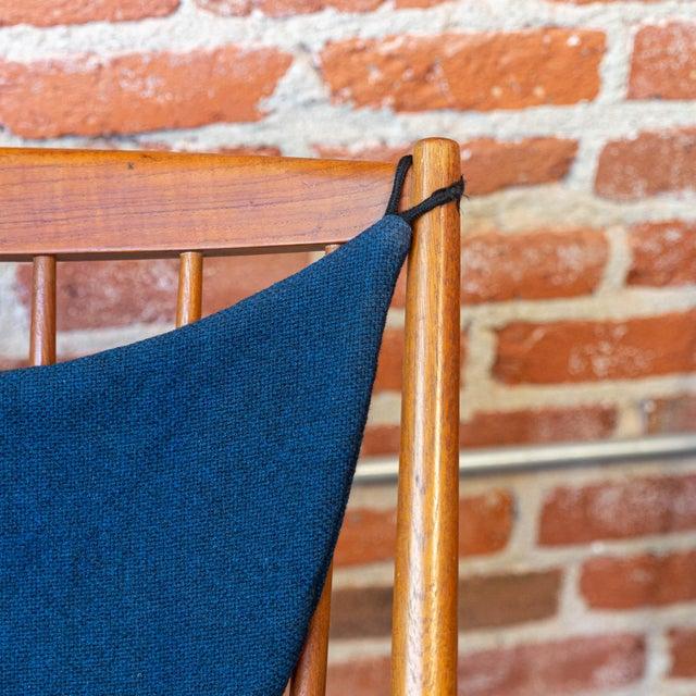 Danish Modern Bramin Mobler Danish Teak Rocking Chair For Sale - Image 3 of 5