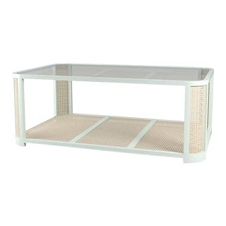Lola Coffee Table - Turquoise Mist For Sale