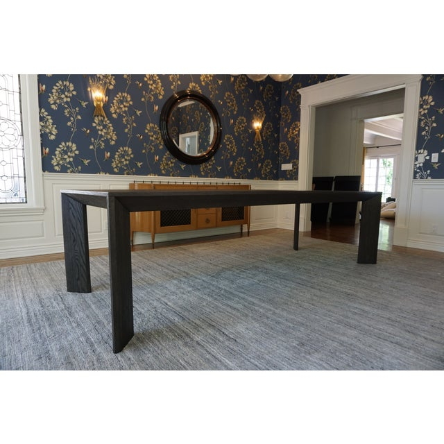 Restoration Hardware Arles Parsons Dining Table Chairish
