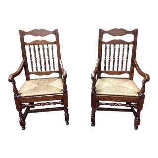 Pennsylvania House Country Style Farm Style Chairs - a Pair For Sale