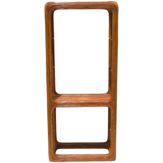 Crespi Style Bamboo Etagere For Sale