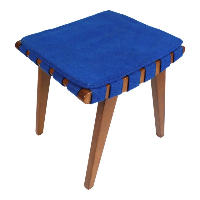 Jens Risom Stool or Ottoman For Sale