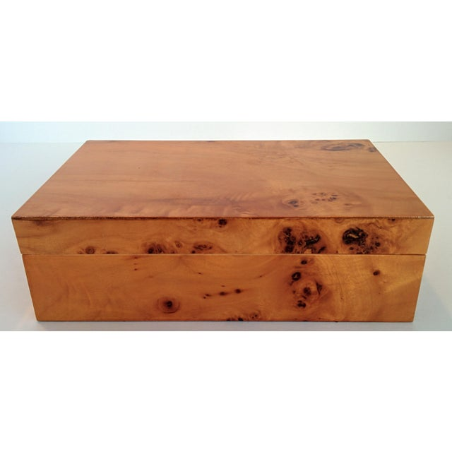 Burl Wood Box - Image 2 of 10