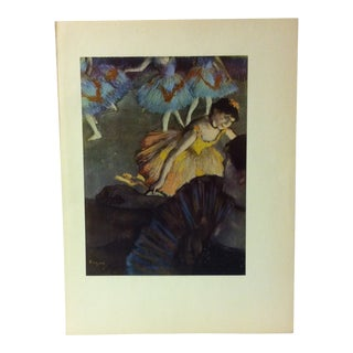 "Mounted Color Print on Paper, ""A Ballet Scene From an Opera Box"" - Circa 1950 For Sale"