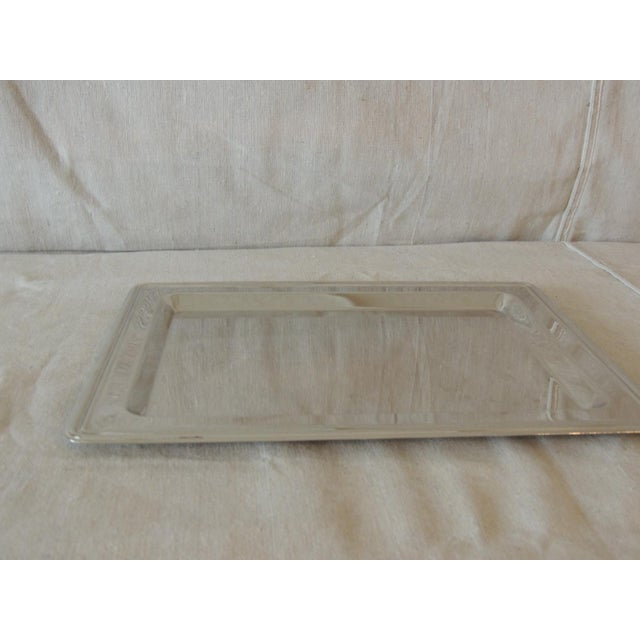 Ralph Lauren Polished Chrome Butler's Serving Tray Size: 9 x 12 x 0.5