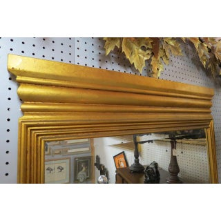 1960s Vintage Mid Century Modern Gilded Wood Framed Mirrors - a Pair Preview