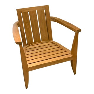 Summit Outdoor Furniture Loggia Club Chair For Sale