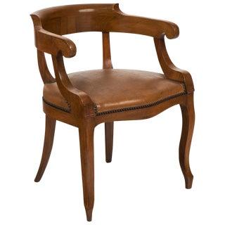 Antique French Restauration Armchair