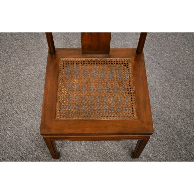 Henredon Henredon Furniture Pan Asian Collection Side Chair For Sale - Image 4 of 11